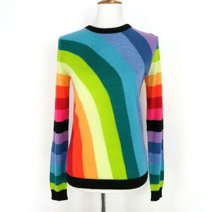 Magaschoni Cashmere Rainbow Sweater S